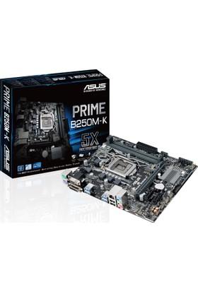 Asus Prime B250M-K İntel B250 2400MHz DDR4 Soket LGA1151 mATX Anakart