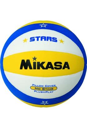 Mikasa Plaj Voleybolu Topu VSV-STARS-Y Sarı/Mavi/Beyaz