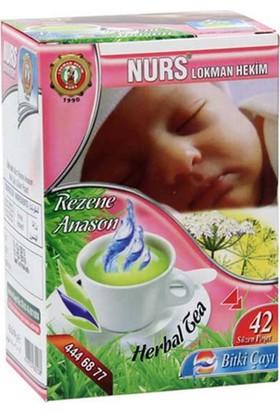 Nurs Lokman Hekim Rezene Anason Karışımlı Bitki Çayı 42'Li