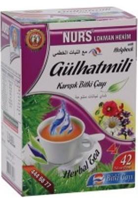 Nurs Lokman Hekim Gülhatmili Karışık Bitki Çayı 42'Li