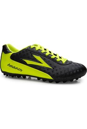 Lig Amanos Halı Saha Ayakkabısı Siyah-Sarı
