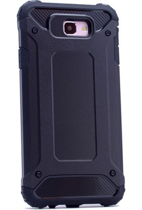 Case 4U Samsung Galaxy J7 Prime Kılıf Tank Armor Ultra Korumalı Siyah