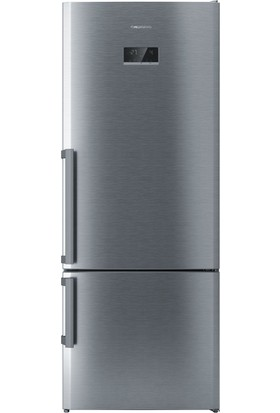 Grundig GKND 5300 I A++ 530 Lt Inox NoFrost Kombi Tİpi Buzdolabı