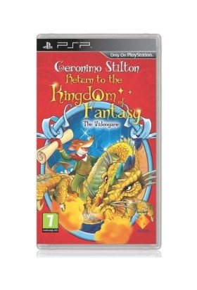 Psp Geronimo Stilton Return To The Kingdom Of Fantasy