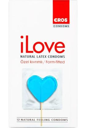 Eros İlove Ozel Kivrimli Prezervatif
