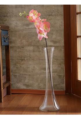 Yedifil Küçük Orkide Pembe Yapay Çiçek