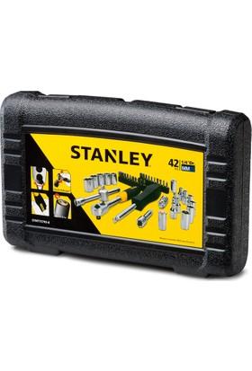 Stanley Stmt72793-8 1/4''Mini Karbüratör Lokma Takımı (Bits Uç Seti) 42 Parça