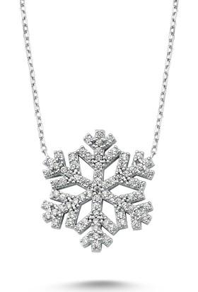 Mygümüş Kartanesi Gümüş Bayan Kolye My100071