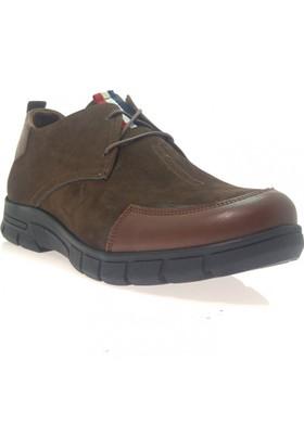 Weps Gold 476 Erkek Mevsimlik Hakiki Deri Ayakkabı Kahverengi