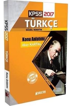Kurultay Yayınları Kpss 2017 Türkçe Konu Anlatımı
