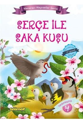 Maceracı Hayvanlar Serisi: Serçe İle Saka Kuşu - Mustafa Sağlam