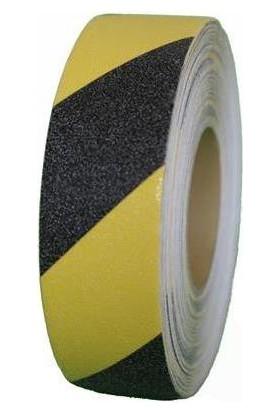 Mertsan Merdiven Kaydırmaz Bant Sarı-Siyah 50 Mm x 25 Mt