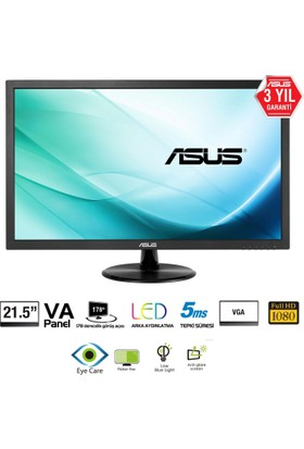 "Asus VP229DA 21.5"" 5ms Analog FHD IPS Monitör"