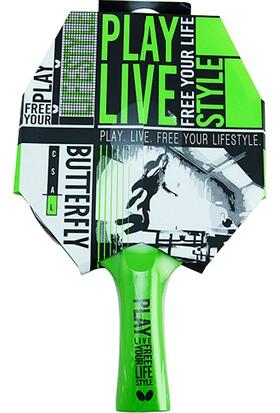 Butterfly 85205 Free Your Style Ittf Onaylı Masa Tenisi Raketi