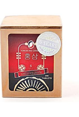 Daedong Korea Kırmızı Kore Ginsengi - Korean Red Ginseng - 300 Mg 200 Tablet