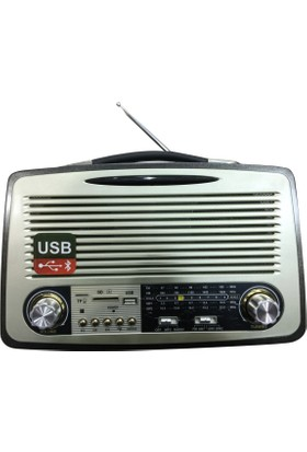 Mega Mg-1700Bt Bluetooth Nostalji Radyo