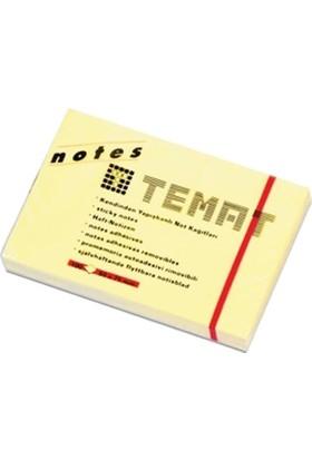 Temat Yapışkanlı Not Kağıdı 50X75Mm Pastel