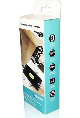 AutoCsi Bluetooth Araç Kiti MP3 Audio FM Transmitter AUX