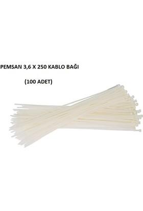 Pemsan 3,6X250 Kablo Bağı