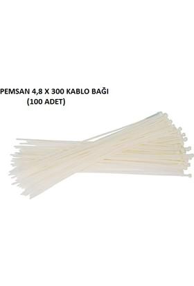 Pemsan 4,8X300 Kablo Bağı