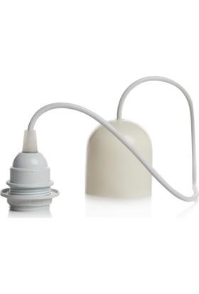 Superlight Modern Tekli Tesisat - Kablolu. Beyaz