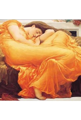 Art Stones Haziran Ateşi Flaming June Lord Frederick Leighton