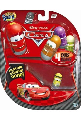 Mighty Beanz Cars 4 Lü Paket