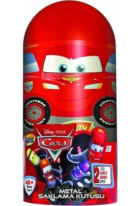 Mighty Beanz Cars Metal Saklama Kutusu