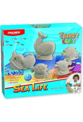 Logon 300 Gram Deniz Hayvanları Kalıplı Kinetik Kum 4620