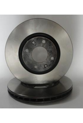Ypc Peugeot 207- 06/12 Ön Fren Diski Havalı Adet 1.6Cc 16V 1.6 16V Hdı/Vtı (283X26X66X34)(Bramax)