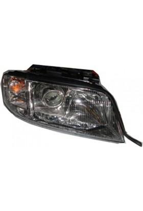 Ypc Audi A6- 98/02 Far Lambası R Manuel/Elektrikli/Mercekli (Famella)