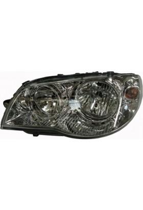 Ypc Fiat Albea- 05/13 Far Lambası L Elektrikli/Motorlu (İç Aynası Nikelajlı) (Famella)