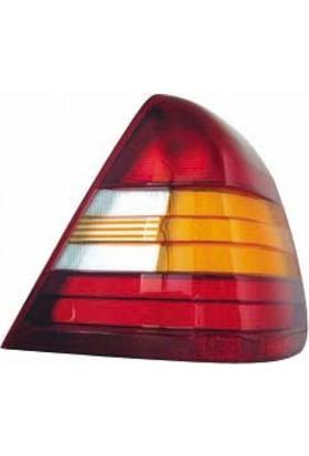 Ypc Mercedes C Class- W202- 93/99 Stop Lambası L Sarı/Kırmızı (Famella)