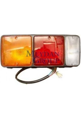 Ypc Mitsubishi Canter- Fe304- 90/97 Stop Lambası L (Sarı/Kırmızı/Beyaz) (Famella)