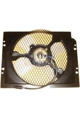 Ypc Mitsubishi Canter- Fe635/659- 98/06 Klima Fan Davlumbazı Komple Sac (4Kanat)