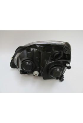 Ypc Renault Clio- Sd/Hb- 02/08 Far Lambası R Elektrikli/Motorsuz Gri 5 Fişli (Famella)