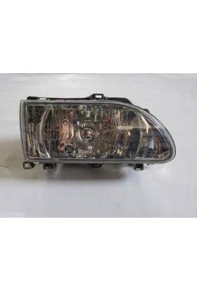 Ypc Kia Hı Besta- Minibüs- 97/99 Far Lambası R (Bağlantı Plastiği İle Birlikte) (Şeffaf Cam) (Famella)