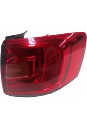 Ypc Volkswagen Jetta- 6- 11/14 Dış Stop Lambası R Kırmızı/Sarı (Ledsiz) (Famella)