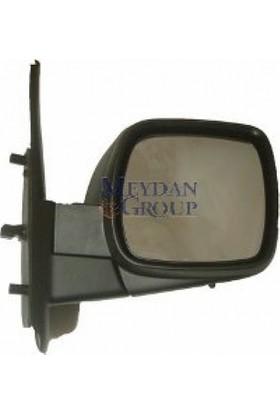 Ypc Renault Kangoo- 08/13 Kapı Aynası R Elektrikli/Isıtmalı/Sensörlü (Siyah Kapaklı)