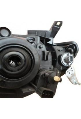 Ypc Mitsubishi L200- Pick Up- 06/09 Far Lambası R Elektrikli/Motorlu (Sarı Sinyalli) (H4) (Famella)