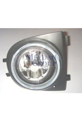 Ypc Nissan Micra- K11- 98/02 Sis Lambası R Yuvarlak Şeffaf (Çerçevesi İle Birlikte) (Tyc)