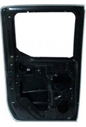 Ypc Nissan Pick Up- Navara- 06/09 Arka Kapı Komple L (Çelik Barlı) (İceli/Çekomastikli) (Yan Sanayi)