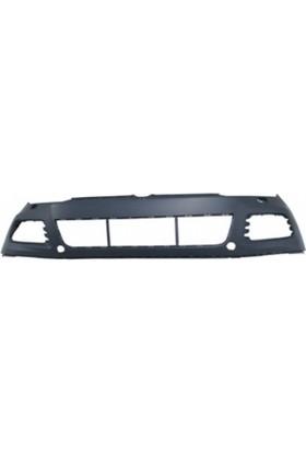 Ypc Volkswagen Touareg- 11/14 Ön Tampon Siyah Sis/Panjur Ve Far Yıkama Delikli