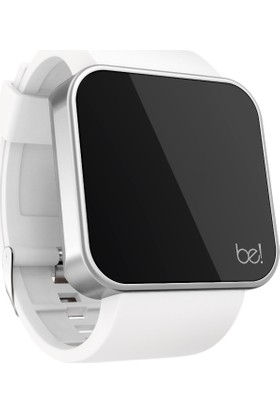 Be! Watch Touch Matte Silver/White