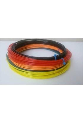 eSun Pla 6x10m 6 Renk 1.75mm 3B Yazıcı Filament