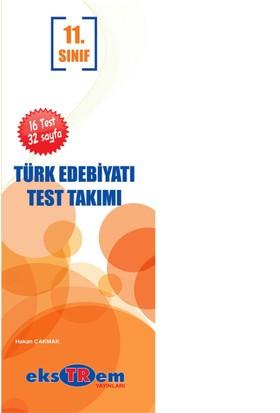 Ekstrem Yayınları 11.Sınıf Türk Edebiyatı Çek Kopar Yaprak Test Takımı