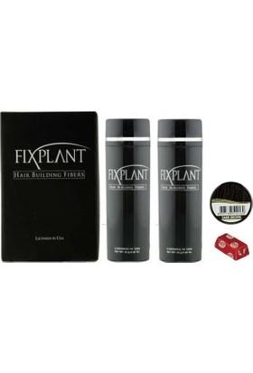 Fixplant 2 x 25 gr Koyu Kahve Saç Fiberi