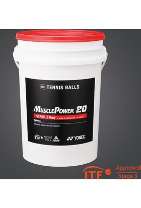 Yonex 5-7 Yaş 60'Lı Tenis Topu - Kırmızı