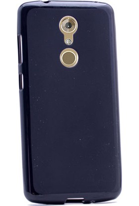 Gpack Zte Axon 7 Mini Kılıf Süper Silikon Arka Kapak Siyah
