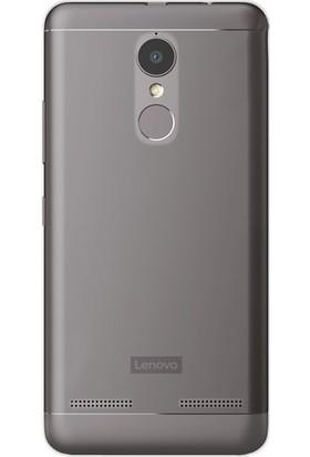 Gpack Lenovo K6 Kılıf İnce 02Mm Silikon Arka Kapak Antrasit